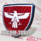 GENUINE JDM 1984-89 MR2 AW11 FRONT EAGLE CENTER EMBLEM RED COLOR -BASED OEM