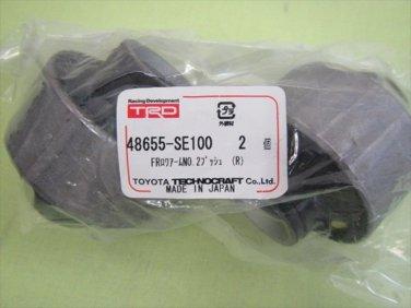 TOYOTA ALTEZZA SXE10 GXE10 TRD FRONT LOWER ARM BUSH NO.2 SET 48655-SE100 RUBBER