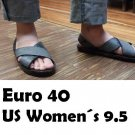 Bolivian Abarcas (Euro 40, US Womens 9.5)