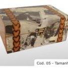 """hardwood box cod 05 7.09x4.72x3.94"""" (18x12x10cm)"""