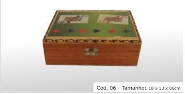 hardwood box cod 06 7.08x3.94x2.36 (18x10x06cm)
