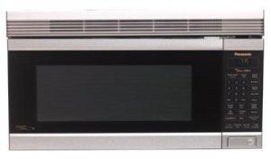 "Panasonic NN-S262F Over-The-Range Inverter ""Stainless Steel"" Microwave Oven"