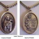 Saint Theresa Medal Necklaces