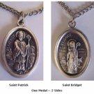 St. Patrick & St. Bridget Medals