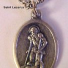 Saint Lazarus Medal Necklaces