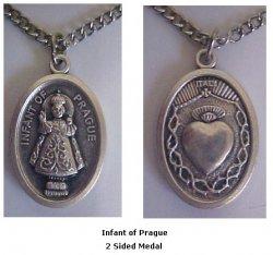 Infant of Prague Medal