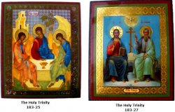 Large Holy Trinity Icon