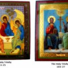 Small Holy Trinity Icon