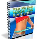 Weight Loss Resolution - ebook