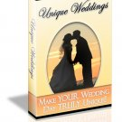 Unique Weddings - ebook