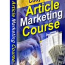 Article Marketing Course - ebook