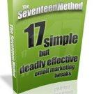 The Seventeen Method - ebook