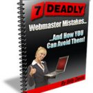 7 Deadly Webmaster Mistakes..& How You Can Avoid Them - ebook