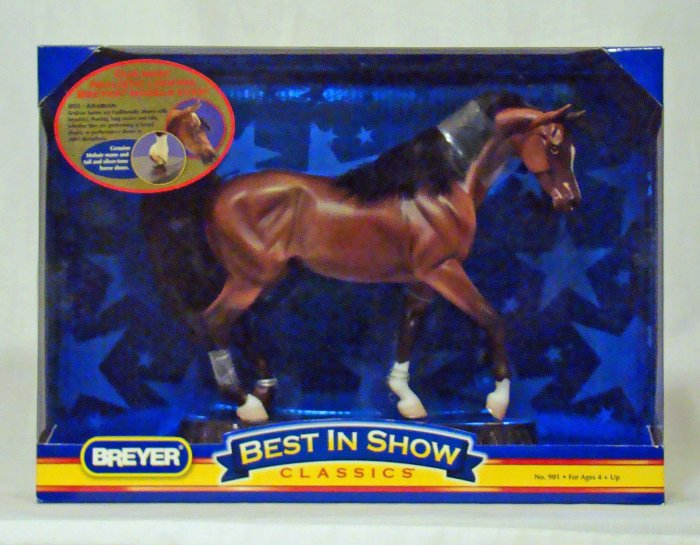 Breyer Model Horse #901 Best In Show Arabian, Classic