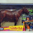Breyer model horse  #1342 Saddle Club's Comanche with book, traditional scale, new in box
