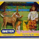 Breyer model horse  #1387 Pony Picnic Set, traditional scale, new in box
