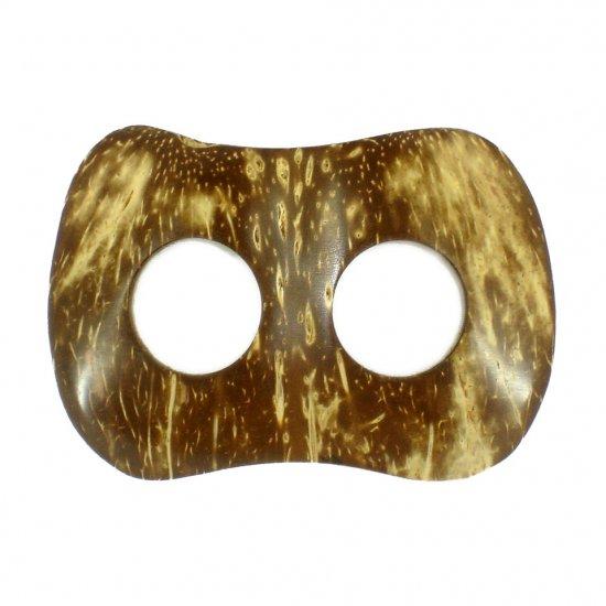 Hand Made Coconut Shell Buckle For Sarong Pareo Scarf (PB121)