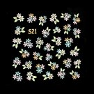 3D Nail Art Decoration Sticker Decal Manicure Floral (NA91)
