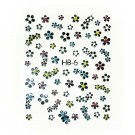 3D Nail Art Decoration Sticker Decal Manicure Floral (NA80)