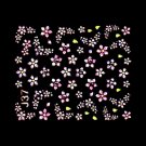 3D Nail Art Decoration Sticker Decal Manicure Floral (NA117)