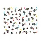 3D Nail Art Decoration Sticker Decal Manicure Butterfly (NA87)