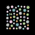 3D Nail Art Decoration Sticker Decal Manicure Floral (NA92)