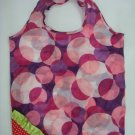 Foldable Strawberry Polyster Tote Bag (Reusable)