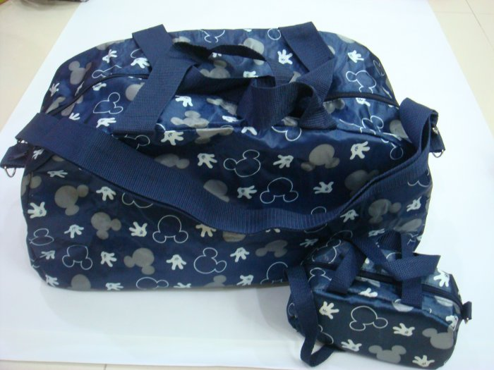 Durable Foldable Mickey Trendy Tote/Travel Bag