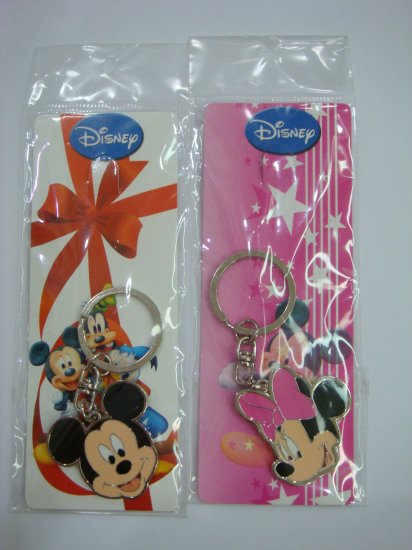 NEW Disney Mickey & Minnie Couple Key Chain