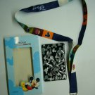NEW Disney Mickey Lanyard Neck Straps with Card Holder