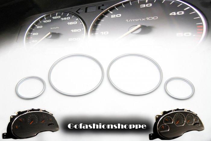 93 94 95 96 97 COROLLA AE100 SILVER DASHBOARD RINGS  DRA2