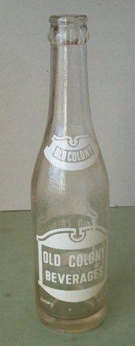 Old Colony Beverages  Soda Bottle   Pueblo CO.