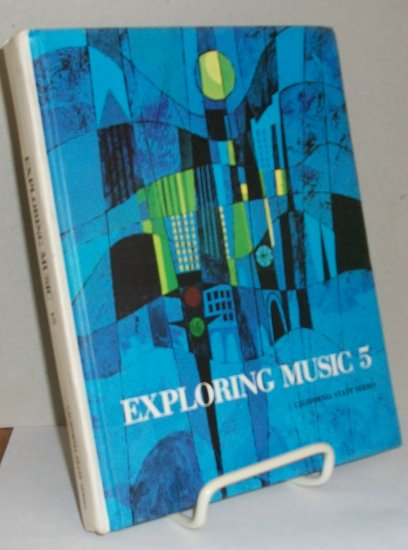 Exploring Music 5  Music Text Book from 1966