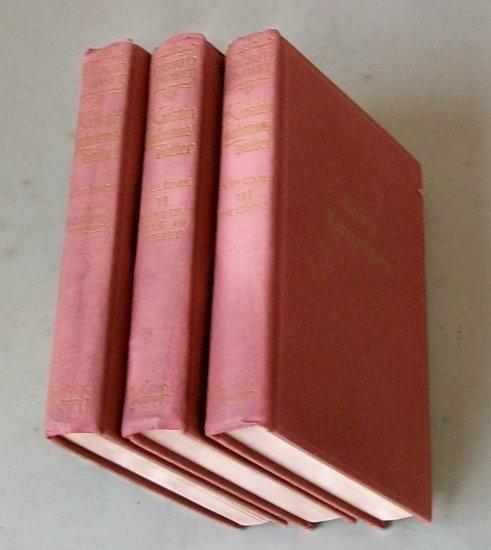 Kristin Lavransdatter  by Sigrid Undset   3 Volume Set   1946