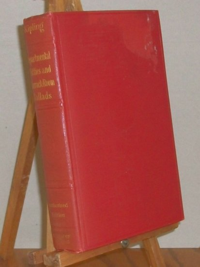 Kipling  Departmental Ditties And Barrack-Room Ballads   1913