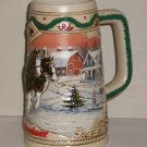 Budweiser  1996  Holiday Stein   American Homestead