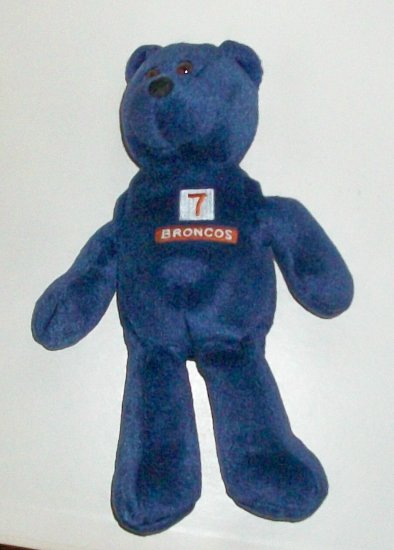 John Elway #7  Stuffed Bear  Denver Broncos