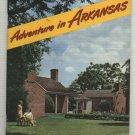 Adventures In Arkansas 1950's Travel Booklet