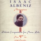 Album Of Isaac Albeniz Masterpieces  Piano Solo Music Book