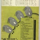 Mills Favorites For Male Quartettes 1936 Issue Vintage Music Book