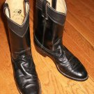 Pair Of Diamond J Womens Boots - Black Size 7 B - Excellent Condition