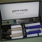 Set Of Pierre Cardin Ball Point Pen and Mechanical Pencil w/ Accessories