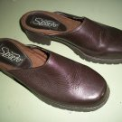 Sporto  Brown Leather Clogs  Size 6 M