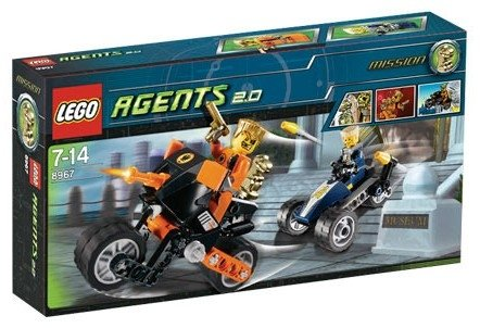 LEGO Agents-8967 Gold Tooth's Getaway