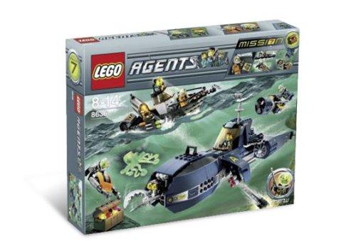 Lego Agents-8636 Deep Sea Quest