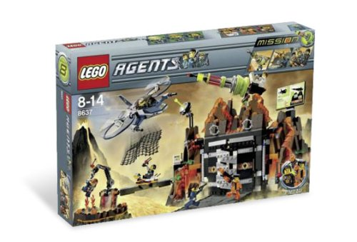 Lego Agents-8637 Volcano Base