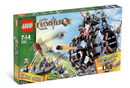 LEGO Castle-7041 Troll Battle Wheel