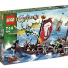 LEGO Castle-7048 Troll Warship