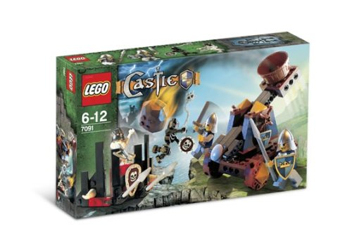 LEGO Castle-7091 Knights' Catapult Defense