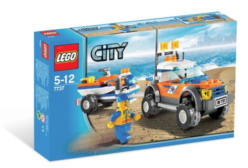 LEGO City-7737 Coast Guard 4WD & Jet Scooter
